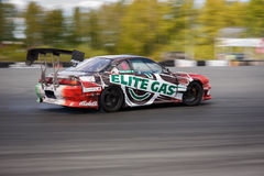 Drift racing car Royalty Free Stock Images