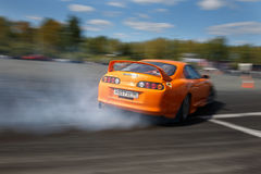 Drift racing car Stock Photo