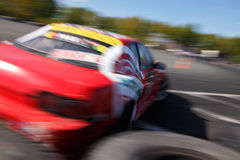 Drift racing car Stock Photography