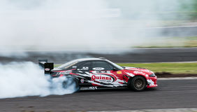 Drift Racing Stock Image