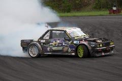 Drift racing. On Pezinska Baba Royalty Free Stock Photo