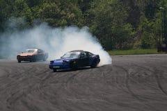 Drift racing. On Pezinska Baba Stock Photography