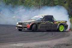 Drift racing. On Pezinska Baba Stock Photo