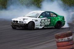 Drift racing. On Pezinska Baba Stock Photos