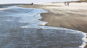Drift-sand over Ameland Island, Netherlands Stock Image