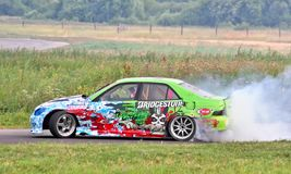 Drift show 2012 Royalty Free Stock Photography