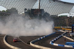 Drift Show on DTM circuit Royalty Free Stock Photography
