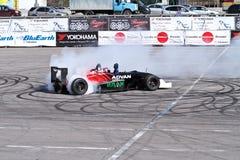 Drift show formula 1 auto royalty free stock image