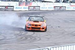 Drift show Orange team Royalty Free Stock Photos