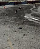 Drift track Stock Photo