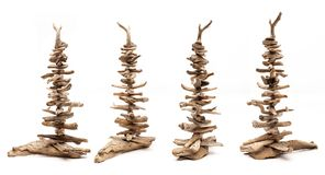 Drift Wood Dekoration royalty free stock image