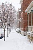 Drifted Sidewalk Royalty Free Stock Photo