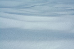 Drifted snow Stock Images