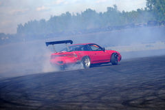 drifting immagine stock