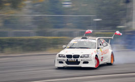 Drifting BMW Stock Photo