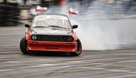 Drifting BMW Stock Photo