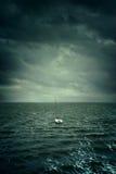 Drifting Boat Royalty Free Stock Photo