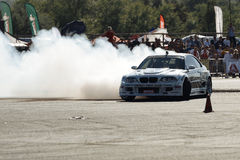 Drifting car Stock Images