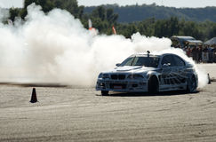 Drifting car Royalty Free Stock Photo