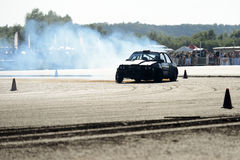 Drifting car Royalty Free Stock Image