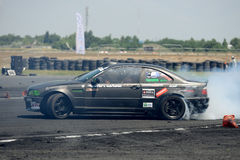 Drifting car Royalty Free Stock Image