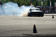 Drifting car Stock Photography