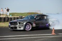 Drifting car Stock Images