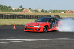 Drifting car Royalty Free Stock Images