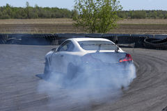 Drifting car Stock Photo