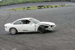 Car drifting Stock Photo