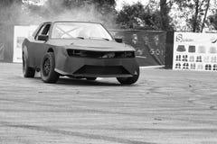 Drifting car Stock Photography