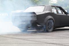 Drifting car Royalty Free Stock Images
