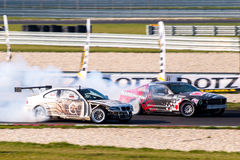 Drifting cars Royalty Free Stock Photography