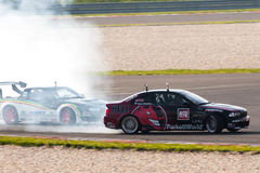 Drifting cars Royalty Free Stock Photos
