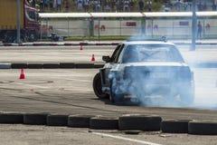 Drifting championship Royalty Free Stock Image