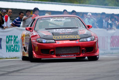 Drifting competition in Thailand Royalty Free Stock Image