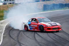 Drifting competition in Thailand Stock Images