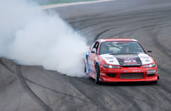 Drifting competition in Thailand Stock Photo
