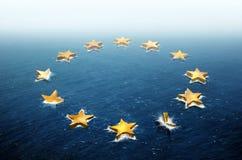 Drifting Europe Royalty Free Stock Photo