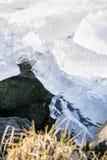 Drifting ice Royalty Free Stock Image
