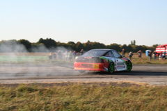 Drifting in Kalynivka Stock Photo