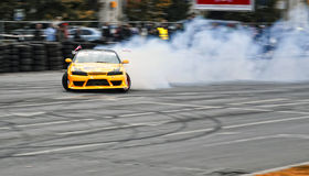 Drifting Nissan Stock Photography