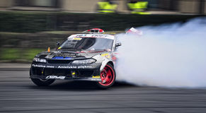 Drifting Nissan royalty free stock photo