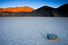 Drifting Rock Stock Photo