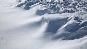 Drifting snow stock video