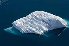 Drifting tip of the iceberg royalty free stock photography