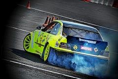 Drifting tuning car Royalty Free Stock Photography