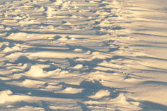 Drifts of snow, winter Stock Images