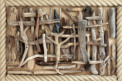 Driftwood Abstract Background Royalty Free Stock Photo