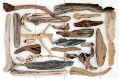 Driftwood Abstract Background Royalty Free Stock Photos